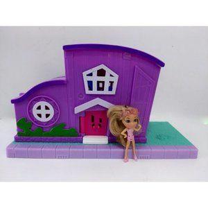 Polly Pockey Pollyville Pocket House & Figure